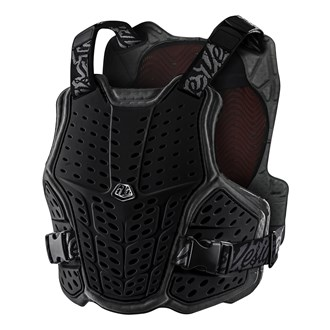 ROCKFIGHT CE FLEX CHEST PROTECTOR BLACK