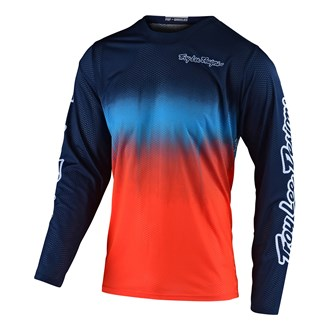 GP JERSEY STAIN'D NAVY / ORANGE | YOUTH